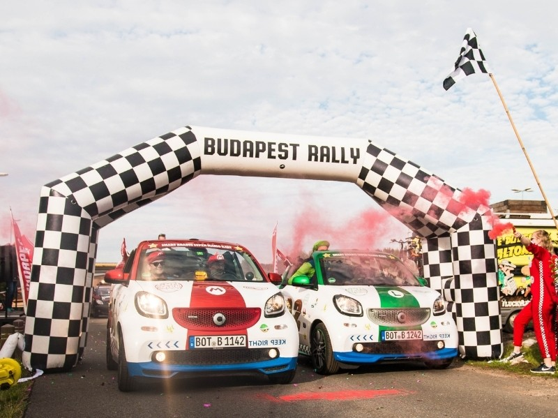 How to win Budapest Rally